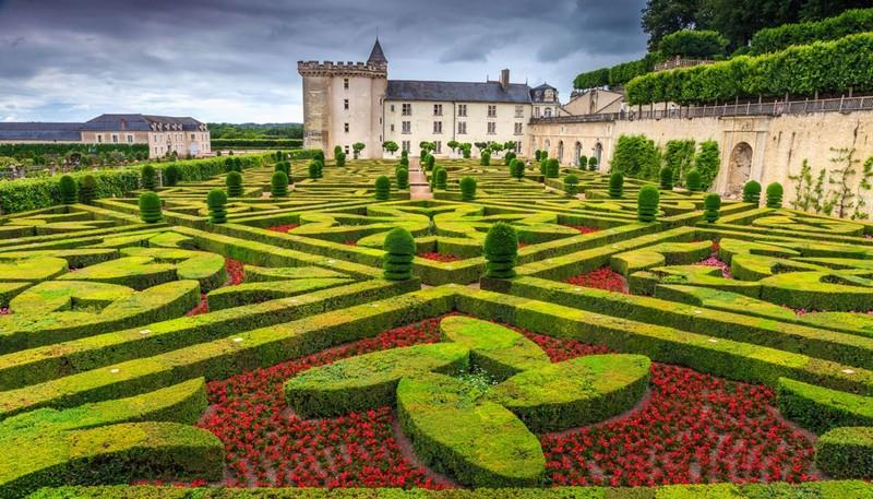 I 10 giardini più belli d'Europa,Giardini del Castello di Villandry , Francia (Photo Credits www.foxlife,it)