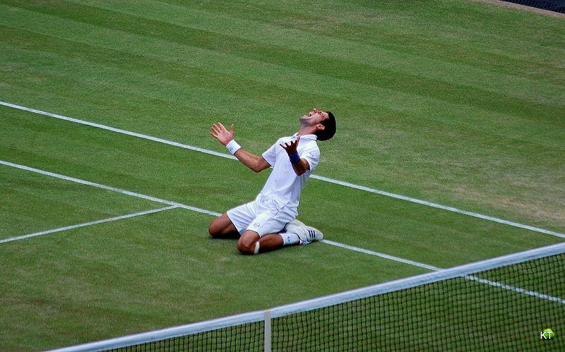 Wimbledon il torneo di tennis, e Novak Djokovic alla finale del 2011