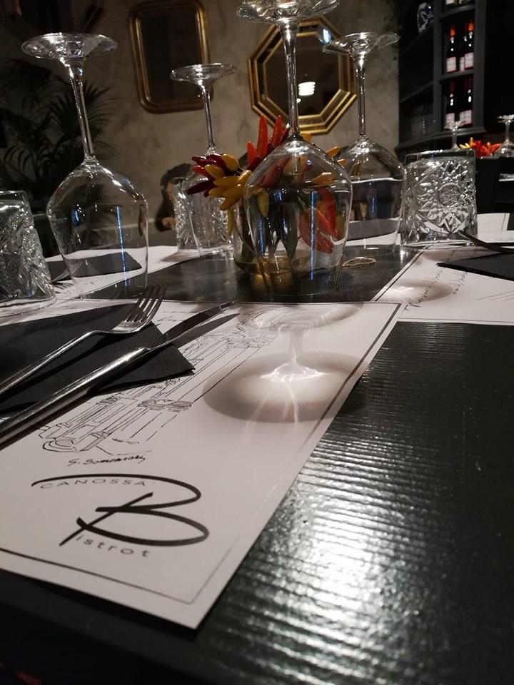 Hotel Broletto Mantova, e il ristorante Bistrot Canossa