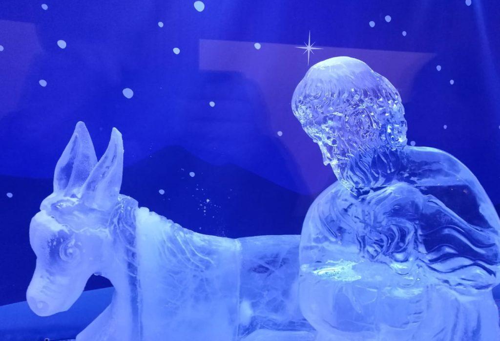 I più bei presepi italiani- il presepe di ghiaccio di CastelBrando