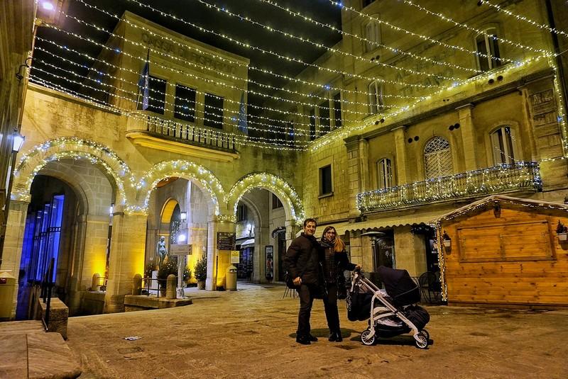 Natale delle Meraviglie , San Marino , Piazza Titano
