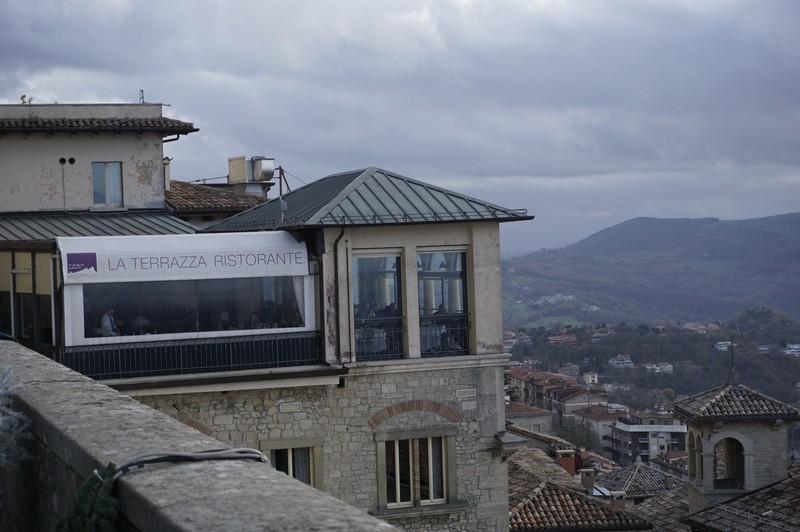 I Ristoranti di San Marino, il Ristorante la Terrazza
