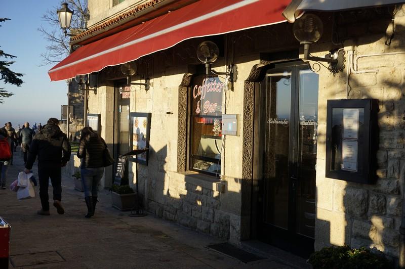 I Ristoranti di San Marino,  il Ristorante Bellavista