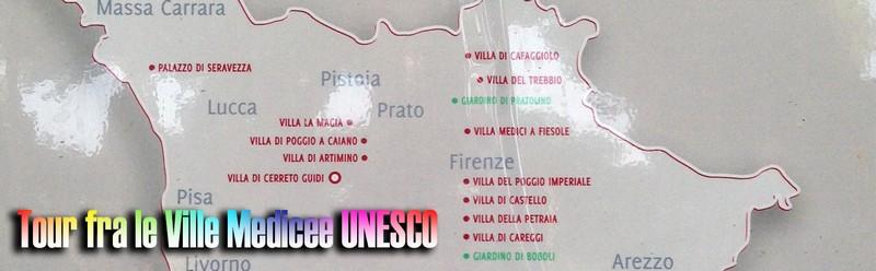 Tour fra le Ville Medicee in Toscana patrimonio UNESCO