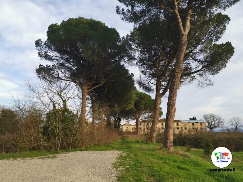 Le Ville Medicee in Toscana - la fattoria medicea a Poggio a Caiano