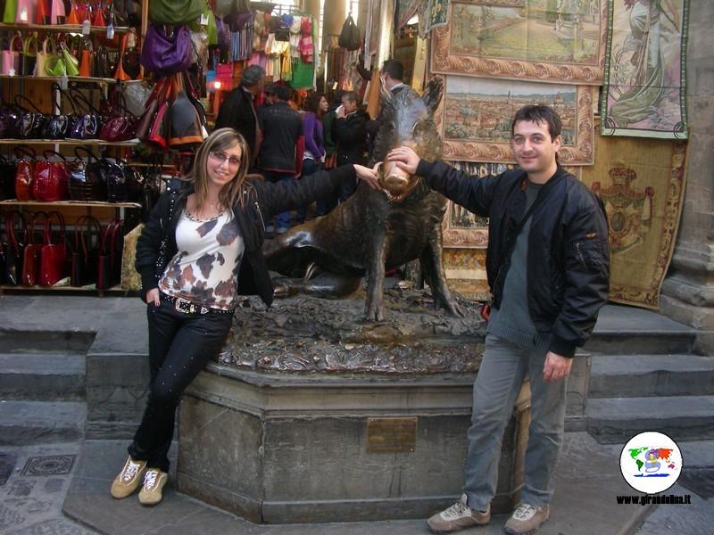 Le curiosità di Firenze- Fontana del Porcellino