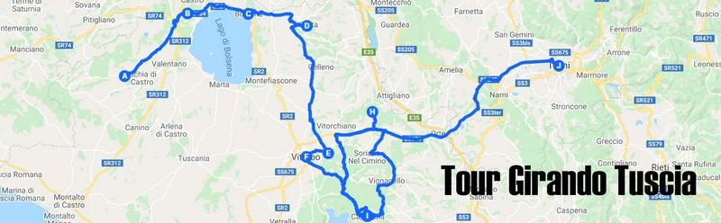 Tour della  Tuscia, 4 giorni fra le meraviglie di questo territorio