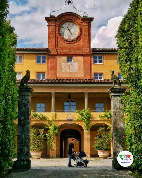 Villa Reale di Marlia,  Palazzina dell'Orologio
