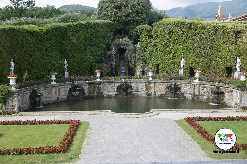 Villa Reale di Marlia,  Teatro d'Acqua
