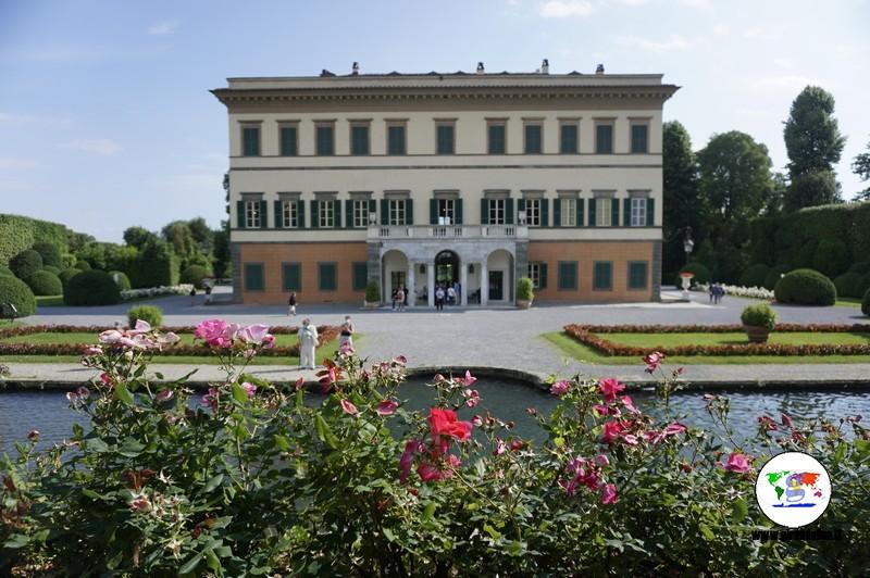 Villa Reale di Marlia, facciata anteriore