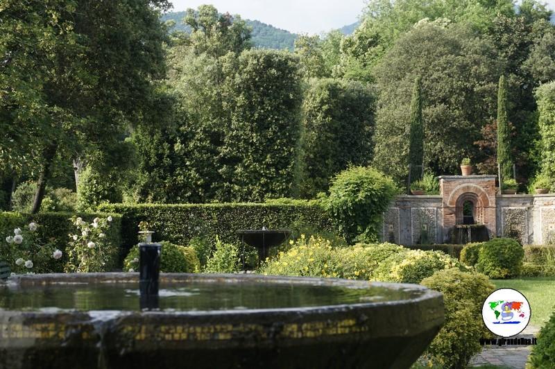 Villa Reale di Marlia,  Giardino all'italiana