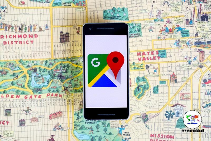 Le app utili per viaggiare, google maps