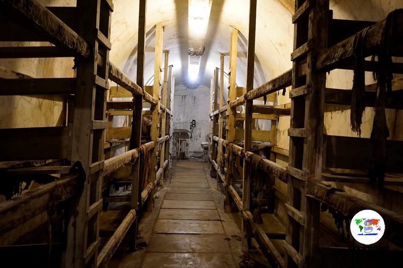Musei e Rifugi Smi di Pistoia, le camerate
