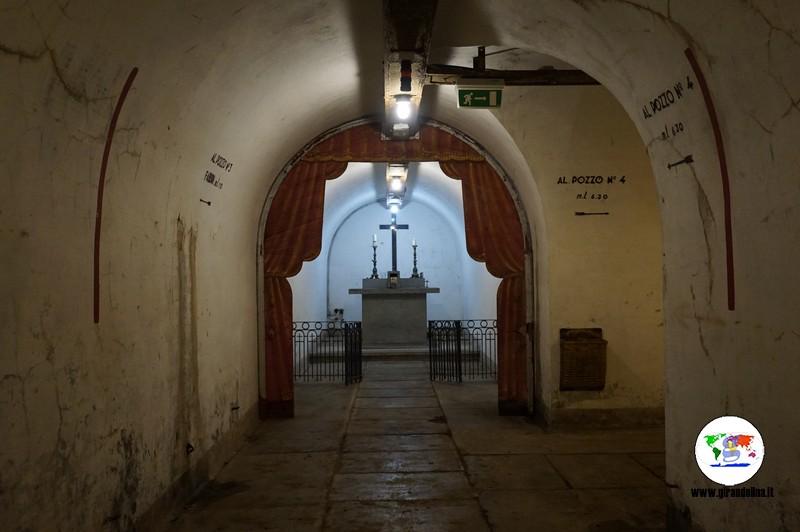 Musei e Rifugi Smi di Pistoia, la cappella