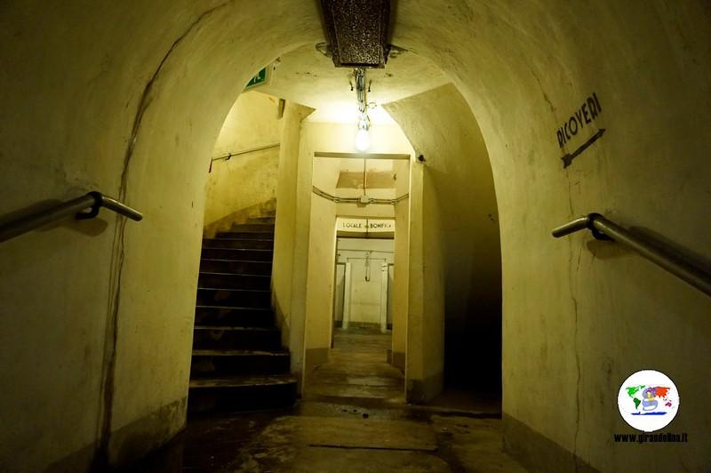 Musei e Rifugi Smi di Pistoia, l'entrata