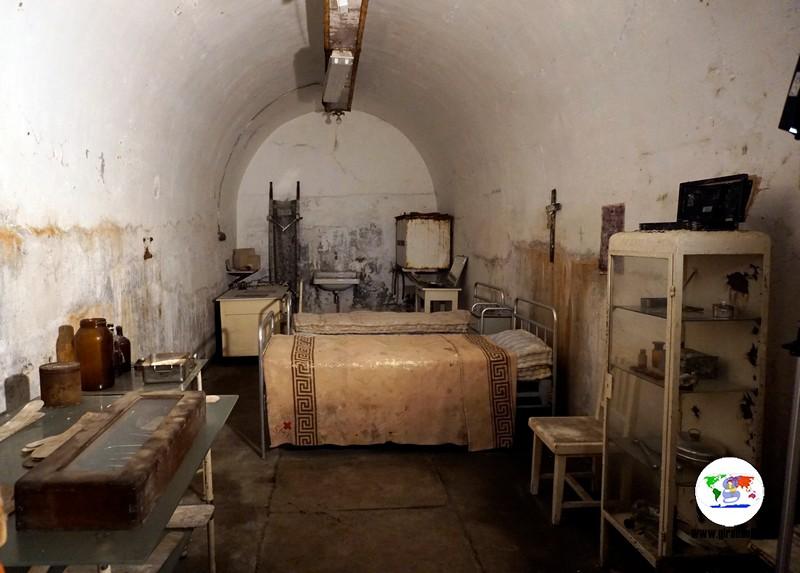 Musei e Rifugi Smi di Pistoia, l'infermeria
