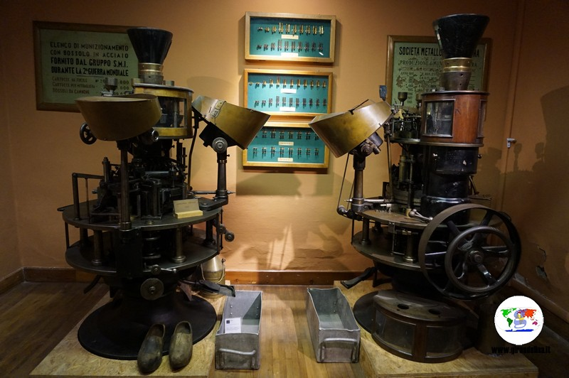 Musei e Rifugi Smi di Pistoia, le  sale del museo