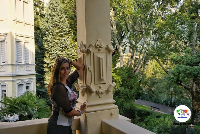Hotel Westend Merano, il balcone della nostra camera