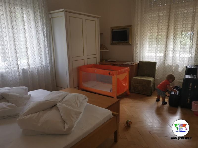 Hotel Westend Merano, la nostra camera