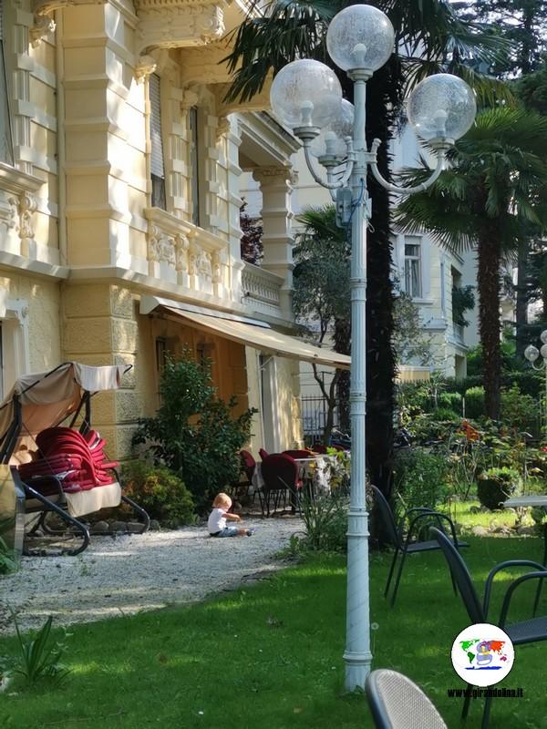 Hotel Westend Merano, Lorenzo nel giardino