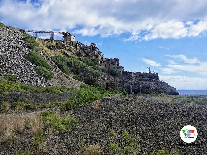 Miniera Monte Calamita, Cantiere del Vallone