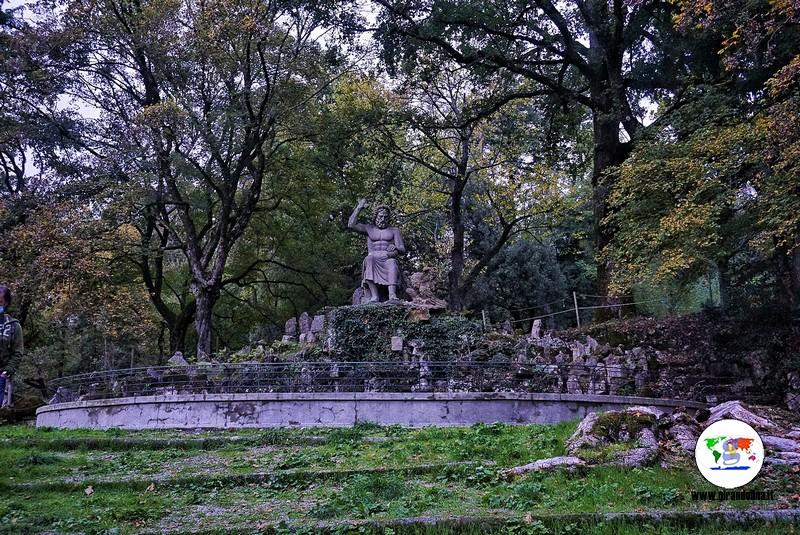 Parco Mediceo di Pratolino, Giove