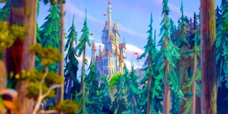 Castelli Disney - Castello della Bella e la Bestia