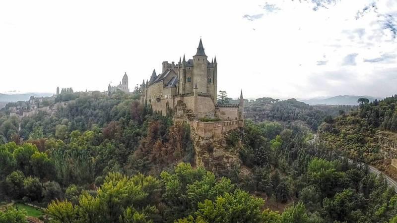 Castelli della Disney - Alcázar di Segovia