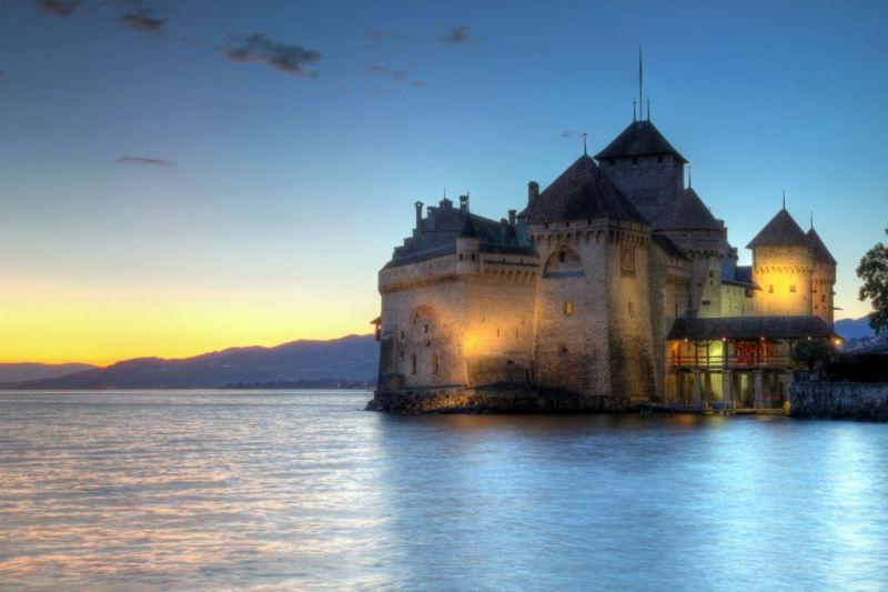 Castelli Disney - Castello Chillon