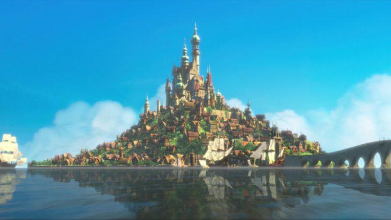 Castelli Disney - Castello di  Rapunzel