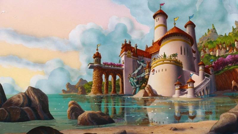 Castelli Disney - Castello della Sirenetta
