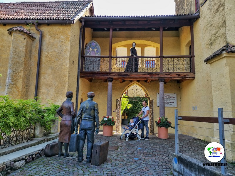 Entrata al Touriseum dei Giardini di Castel Trauttmansdorff