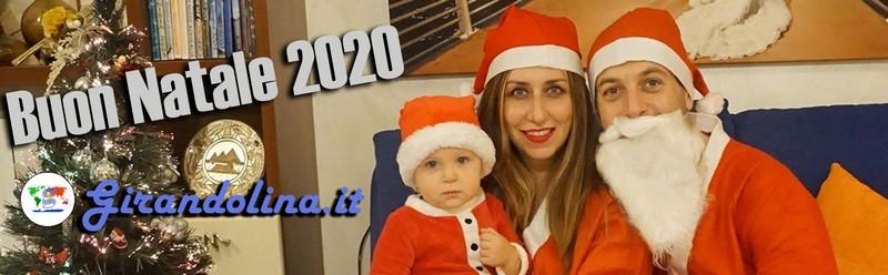 Buon Natale 2020 e Felice Anno Nuovo dalla Girandolina Family