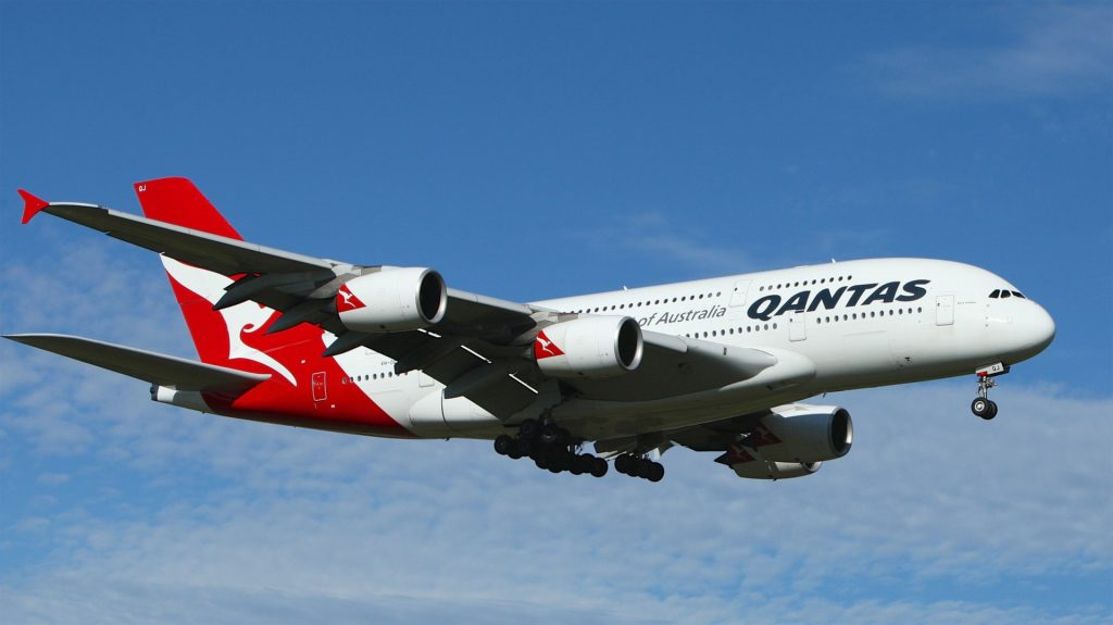 Volo senza destinazione - Qantas