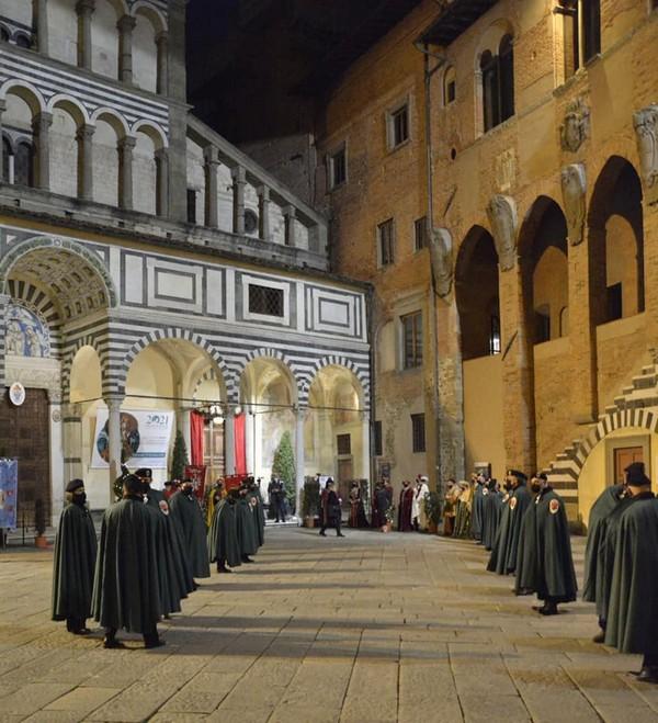 Anno Iacobeo 2021 Pistoia , l'apertura della Porta Santa