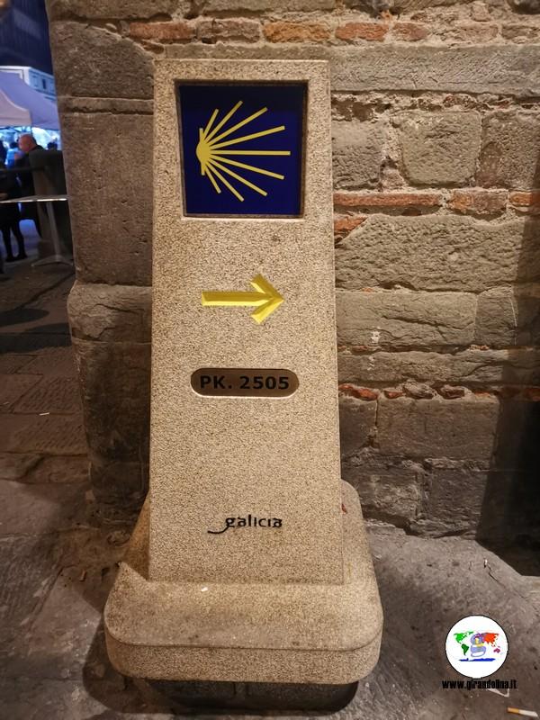 Anno Iacobeo 2021 Pistoia , il cippo donato
