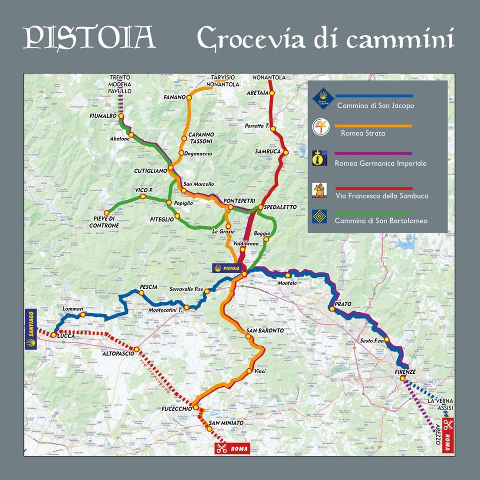 Anno Iacobeo 2021 Pistoia , crocevia di cammini