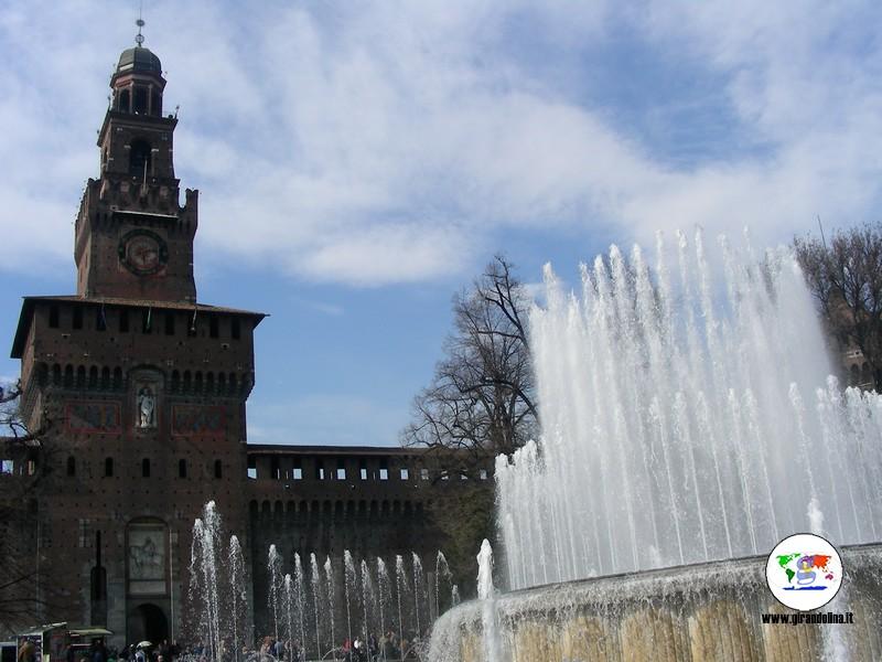 parcheggio economico a Milano - Castello Sforzesco