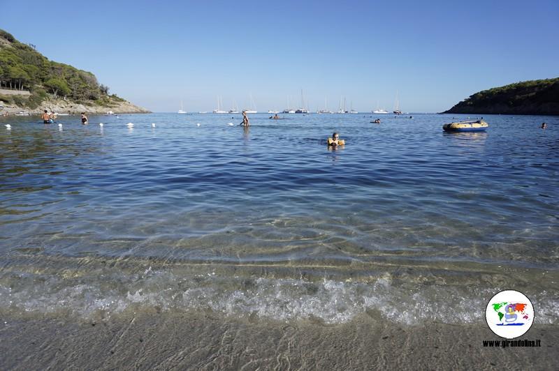 Isola d'Elba con bambini, la Spiaggia della Fetovaia