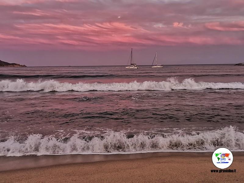 Isola d'Elba con bambini, il tramonto di Marina di Campo