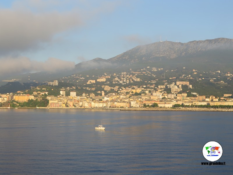 Itinerari  con auto Corsica del Nord, Bastia