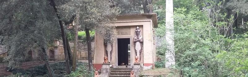 Guida per trovare  i luoghi e i monumenti egizi a Firenze