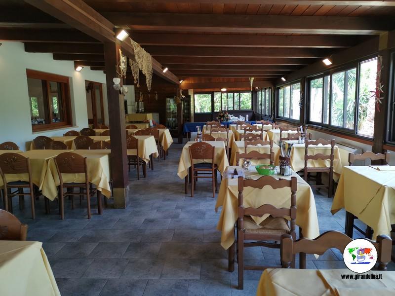 Isola d'Elba dove alloggiare con bambini, Hotel Santa Caterina  la sala ristorante