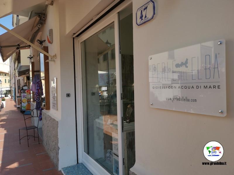 Perle dell'Elba, il nuovo show room a Marina di Campo