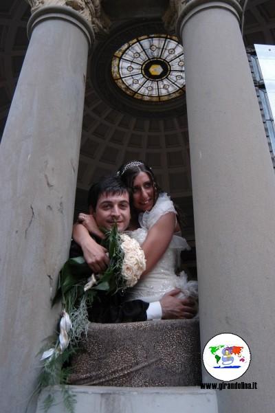 Montecatini Terme Unesco, le Terme Tettuccio Elisa e Alessio sposi