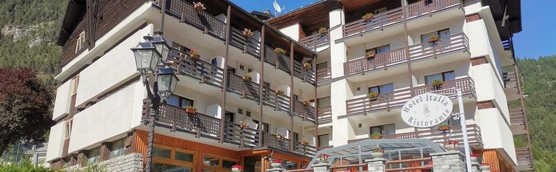 Dove dormire a Brusson in Valle d'Aosta, presso l' HG Hotel Italia